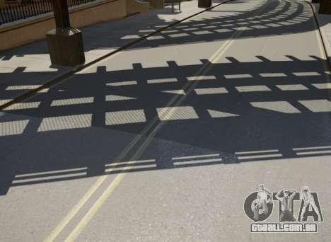 New Roads para GTA 4 por diante tela