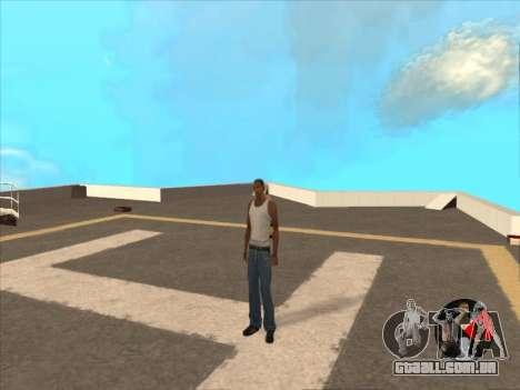 Alternar entre personagens como em GTA V 2.0 para GTA San Andreas segunda tela