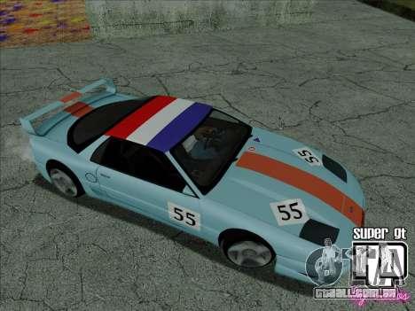 Super GT HD para as rodas de GTA San Andreas