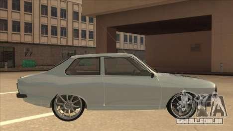Dacia 1310 Sport Tuning para GTA San Andreas traseira esquerda vista