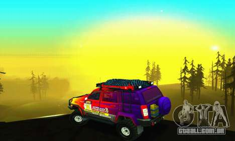 UAZ Patriot julgamento para o motor de GTA San Andreas