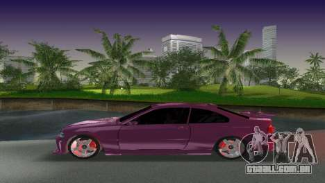 BMW M3 E46 Hamann para GTA Vice City vista superior