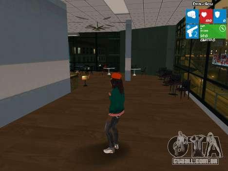 Catalina nova para GTA San Andreas segunda tela