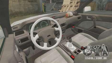 Mitsubishi Galant v2.0 para GTA 4 vista de volta
