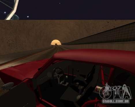 Dodge Charger Daytona para GTA San Andreas vista inferior