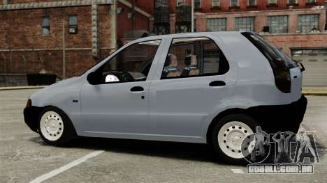 Fiat Palio EDX 1997 para GTA 4 esquerda vista