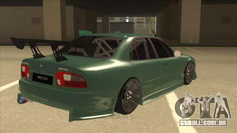 Proton Wira with s15 front end para GTA San Andreas vista direita