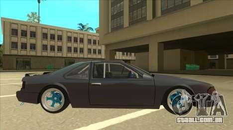 Fortune Drift para GTA San Andreas traseira esquerda vista