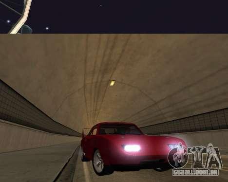 Dodge Charger Daytona para vista lateral GTA San Andreas