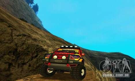 UAZ Patriot julgamento para GTA San Andreas vista direita