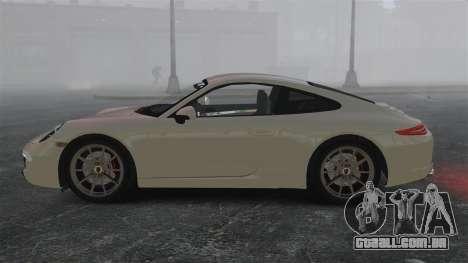 Porsche 911 Carrera S 2012 v2.0 para GTA 4 esquerda vista