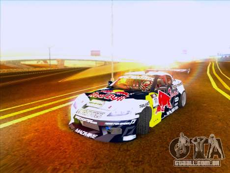 Mazda RX-8 NFS Team Mad Mike para GTA San Andreas esquerda vista