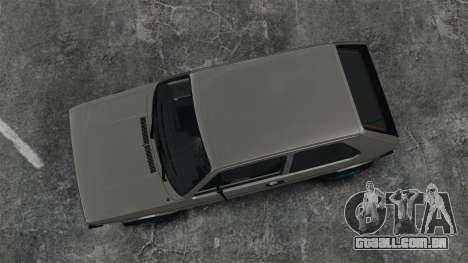 Volkswagen Golf MK1 GTI Update v2 para GTA 4 vista direita