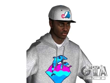 Raheem Sterling skin para GTA San Andreas segunda tela