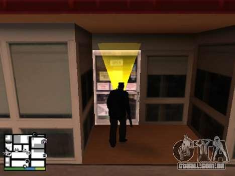 Roubo de loja para GTA San Andreas terceira tela
