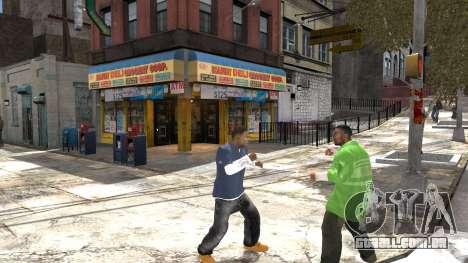Franklin de GTA 5 para GTA 4 quinto tela