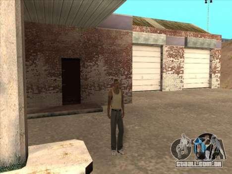 Alternar entre personagens como em GTA V 2.0 para GTA San Andreas por diante tela