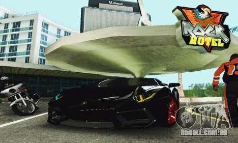 Lamborghini Aventador LP700 para GTA San Andreas vista interior