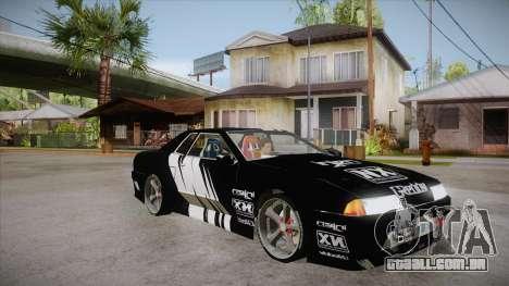 Elegy Touge Tune para GTA San Andreas vista traseira