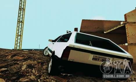 VW Parati GLS 1988 para GTA San Andreas vista direita