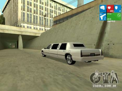 New Stretch para GTA San Andreas vista direita