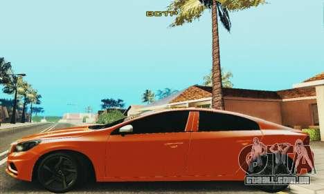 Volvo S60 para GTA San Andreas vista traseira