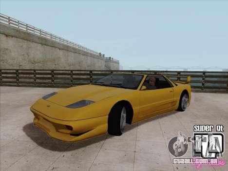 Super GT HD para GTA San Andreas esquerda vista