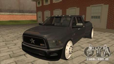 Dodge Ram Laramie Low para GTA San Andreas