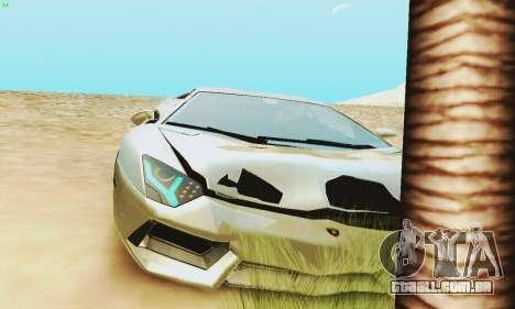 Lamborghini Aventador LP700 para o motor de GTA San Andreas