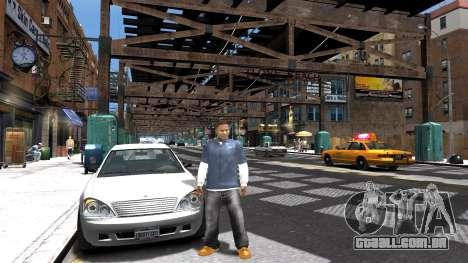 Franklin de GTA 5 para GTA 4 terceira tela