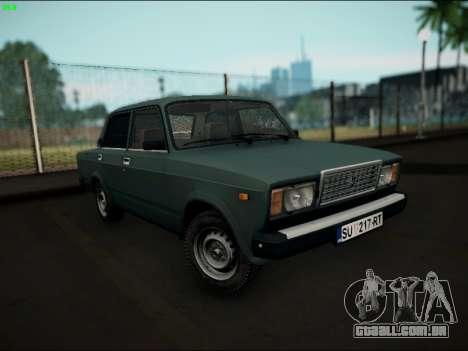 LADA 2107 Riva para GTA San Andreas