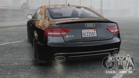 Audi RS5 2011 v2.0 para GTA 4 traseira esquerda vista