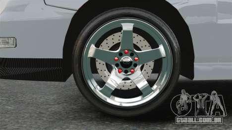 Acura Integra Type-R Domo Kun para GTA 4 vista de volta