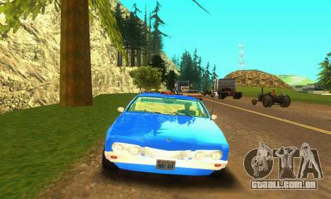 Fasthammer Taxi para GTA San Andreas esquerda vista