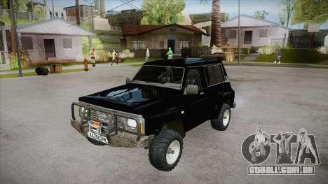 Nissan Patrol Y60 para GTA San Andreas interior