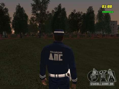 Sargento DPS para GTA San Andreas terceira tela