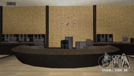 Retekstur o Interior da Câmara Municipal para GTA San Andreas por diante tela