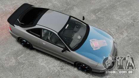 Acura Integra Type-R Domo Kun para GTA 4 vista direita