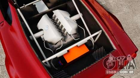 Volkswagen W12 Nardo 2001 [EPM] para GTA 4 vista de volta