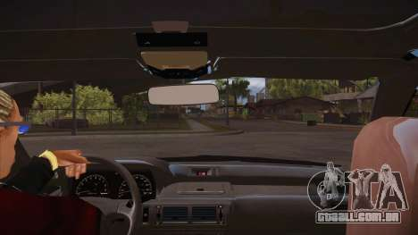 O script CLEO: vista do táxi para GTA San Andreas terceira tela