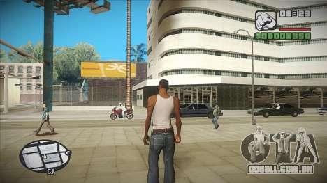 GTA HD mod 2.0 para GTA San Andreas segunda tela