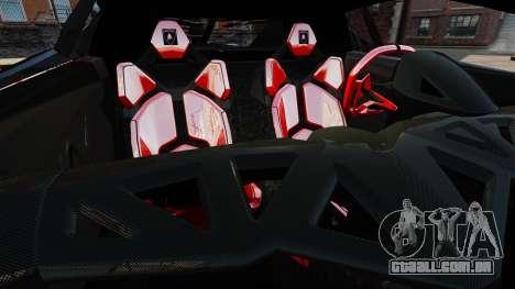 Lamborghini Veneno para GTA 4 vista lateral