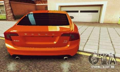 Volvo S60 para GTA San Andreas interior