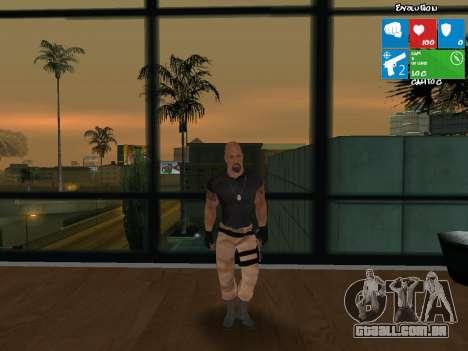 Luke Hobbs de velozes e furiosos 5 para GTA San Andreas