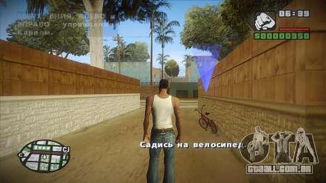 GTA HD mod 2.0 para GTA San Andreas por diante tela