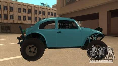Volkswagen Baja Buggy 1963 para GTA San Andreas traseira esquerda vista