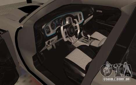 Dodge Charger Super Bee para GTA San Andreas vista traseira