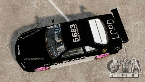 Nissan Skyline R34 para GTA 4 vista direita