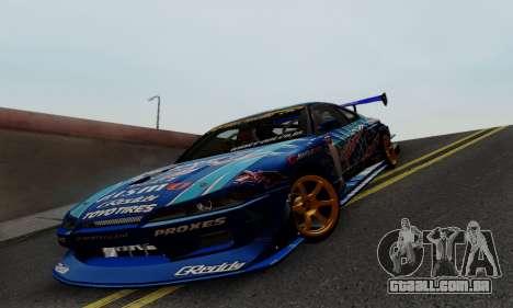 Nissan Silvia S15 Toyo Drift para vista lateral GTA San Andreas