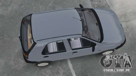 Fiat Palio EDX 1997 para GTA 4 vista direita